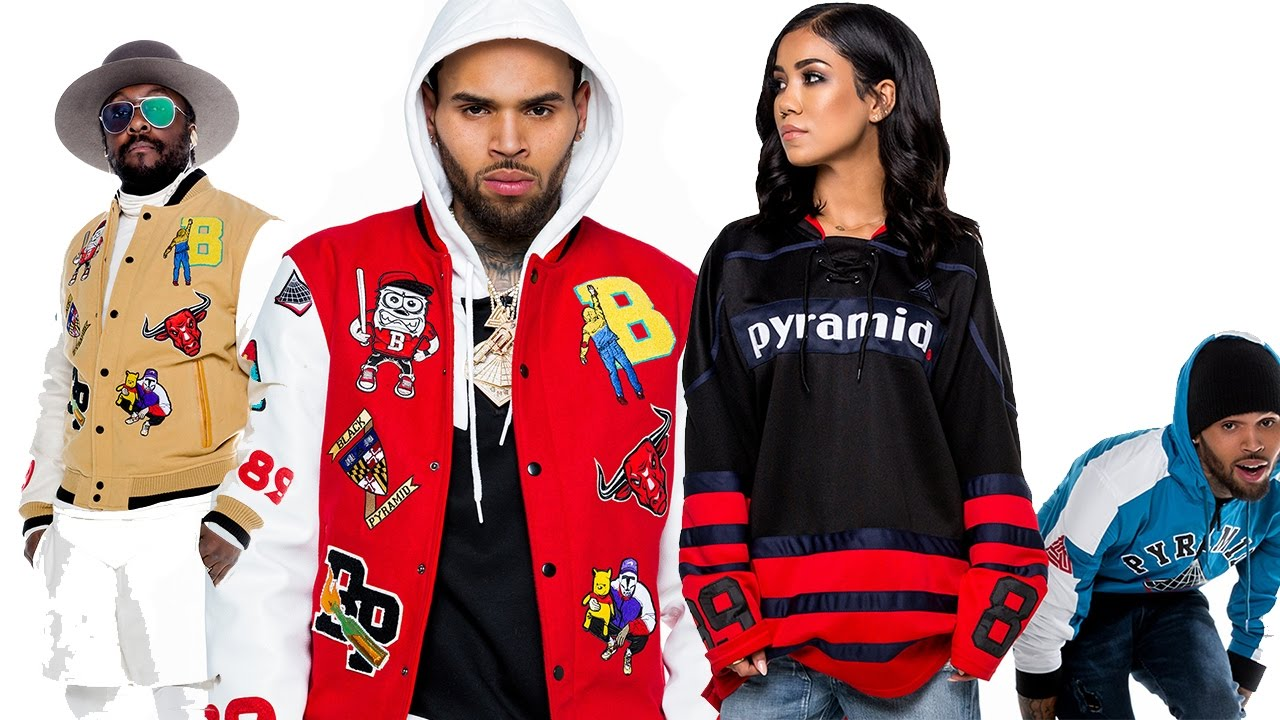 "Chris Brown ""Black Pyramid Lookbook 2017"" - YouTube"