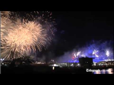 Claims of UFO sighting amid Huge fireworks display to mark London 2012 Olympics opening ceremony