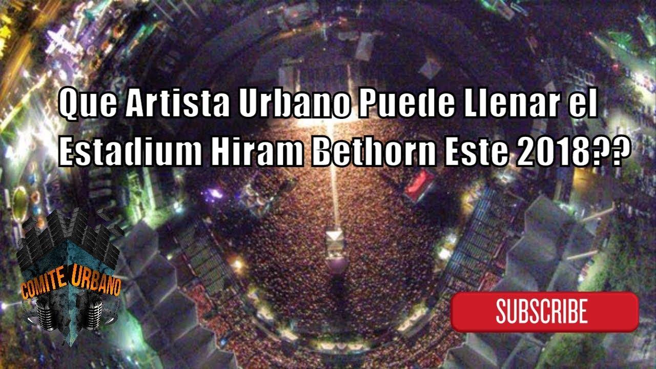 El Choli Ya es Normal..Pero Que Artista Urbano Podria Llenar el Estadium Hiram Bithorn? - (Opinion)