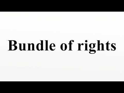 Bundle of rights