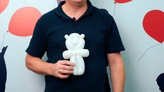Медвежонок из шаров для моделирования