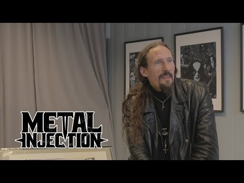 GAAHL Discusses Fine Art, The Anger In His Paintings And More At Galleri Fjalar| Metal Injection