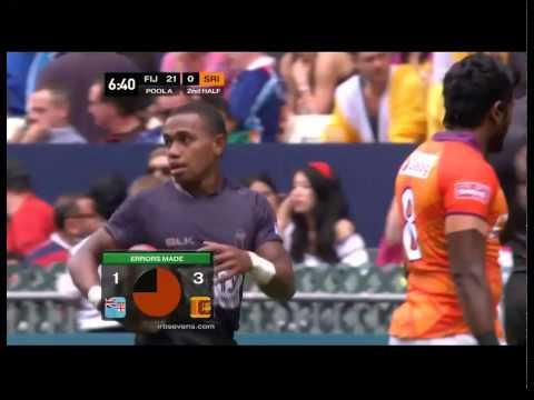 Srilanka vs fiji hongkong rugby 7s 2014
