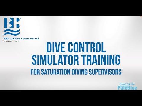Simulator Training for Saturation Diving Supervisors