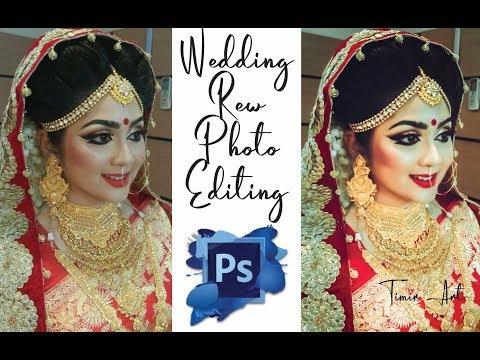 Glow & Shine Color Wedding Photo Editing Photoshop Tutorial 2019 || Timir Art Productuin- thumbnail