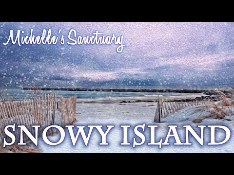 Snowy Island: Hypnotic Story and Guided Meditation for Sleep (With Storm, Ocean, Fire Sounds)