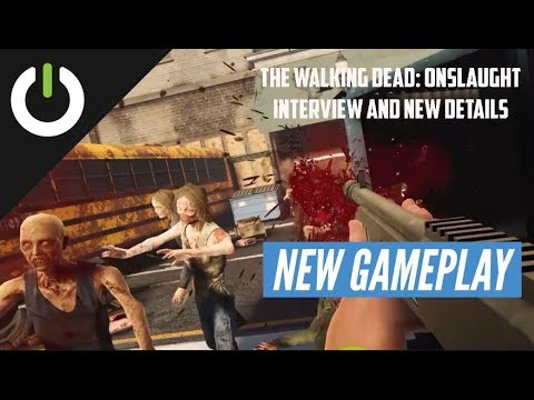 The Walking Dead: Onslaught interview: Learning about the campaign, co-op, and more