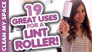 19 Great Uses for a Lint Roller (other than rolling lint!) Easy Cleaning Ideas (Clean My Space) Thumbnail
