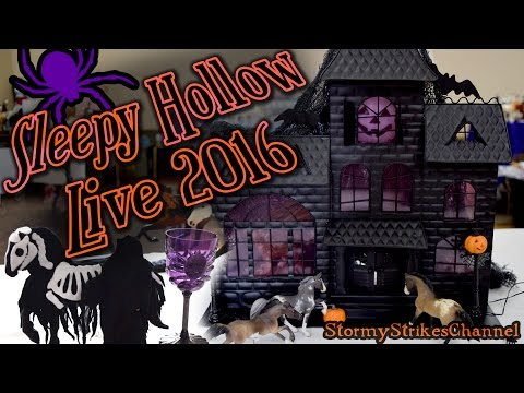 🎃 Sleepy Hollow Live 2016 🎃 Model Horse Show Clips & Photos
