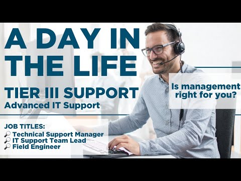 IT Career Paths: How to Get into Advanced IT Support (A Day in the Life of Tier III Support)