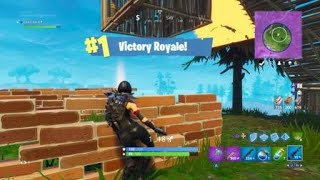 SHADOW OPS RAVEN BACK BLING SKIN FORTNITE VICTORY ROYALE WIN !!!!
