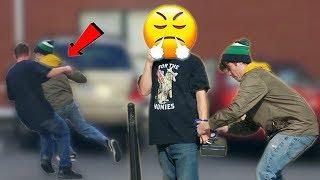 Handcuffing People To Lock Box Prank  Rebeltv