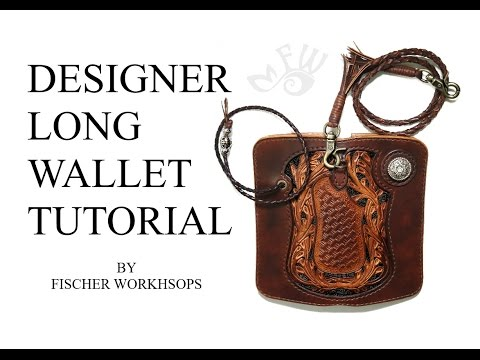 Fischer Workshops Designer Long Wallet Tutorial