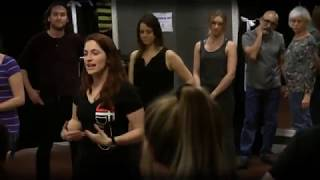 Samantha Buckwalter teaches West Coast Swing at DF Dance Studio