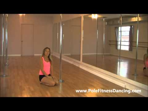 Pole Dancing Lesson For Beginners Floorwork Floor Work