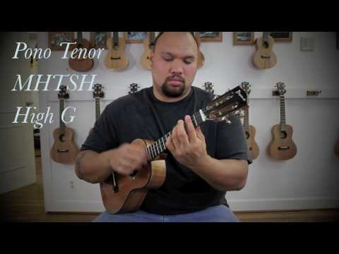 Tenor Ukulele Strings, High G or Low G?, Koolau String comparison