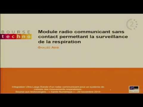 """Bourse aux Technos """"Santé Numérique"""" - Strasbourg - Module radio"""