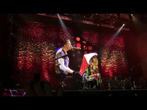 The Scientist - Coldplay en Lima, Perú Estadio Nacional 5 de abril 2016