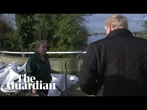 The floods have exposed Johnson – he is equal parts reckless, careless and useless