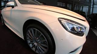 Mercedes-Benz S 560 4MATIC Coupe designo. Start Up, Engine, and In Depth Tour.