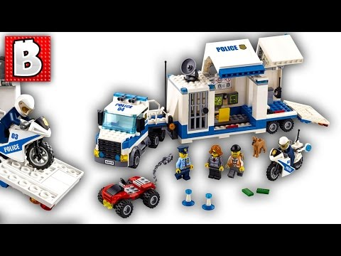 Lego City Mobile Command Center 60139| Live Build and Review