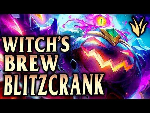 Witch's Brew Blitzcrank! How To Abuse Blitz Buffs! - League of Legends S9