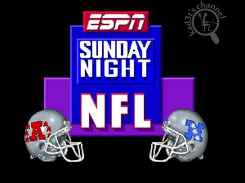 [Intro][SNES] ESPN Sunday Night NFL - YouTube