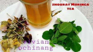 zhourat Moringa tea