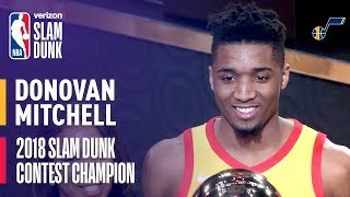 Donovan Mitchell Wins 2018 Verizon Slam Dunk Contest thumbnail