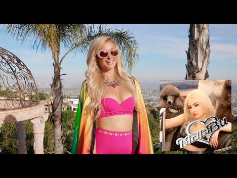 Смотреть клип Paris Hilton X Kim Petras's - Malibu