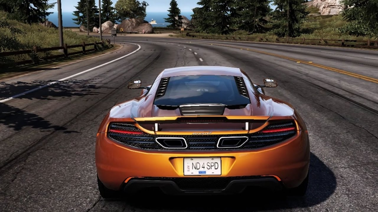 need for speed: hot pursuit - mclaren mp4-12c - test drive gameplay