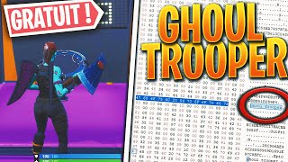 Comment avoir le Skin GHOUL TROOPER GRATUIT sur Fortnite battle royale !!