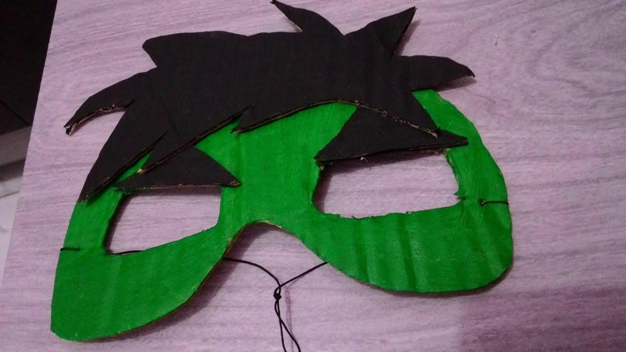 Máscara Do Hulk Feita De Papelão Youtube