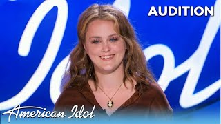 17-Year-Old Hannah Everhart: Katy Perry's Country Twin On American Idol!