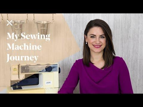 My Sewing Machine Journey