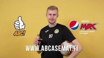 Pepsi Max ja ABC-asemien kilpailu. Voita matka UEFA Champions League matka.
