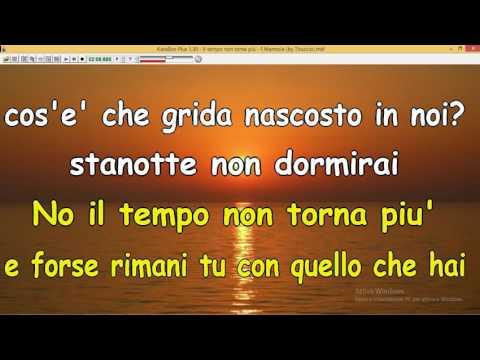 Il tempo non torna più - F Mannoia (by Tituccio) Ascoli Satriano (Fg)