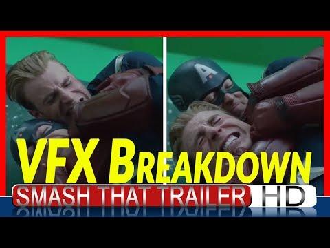AVENGERS: ENDGAME - Cap Vs Cap VFX Breakdown