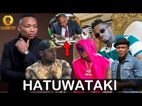 KIMENUKA:Wasanii wa KenYa waandamana kuwaondoa Diamond,Alikiba na Harmonize ili muziki wao Upate naf thumbnail