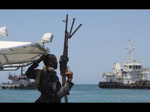 Somali pirates VS Guard ships private security guard 2019