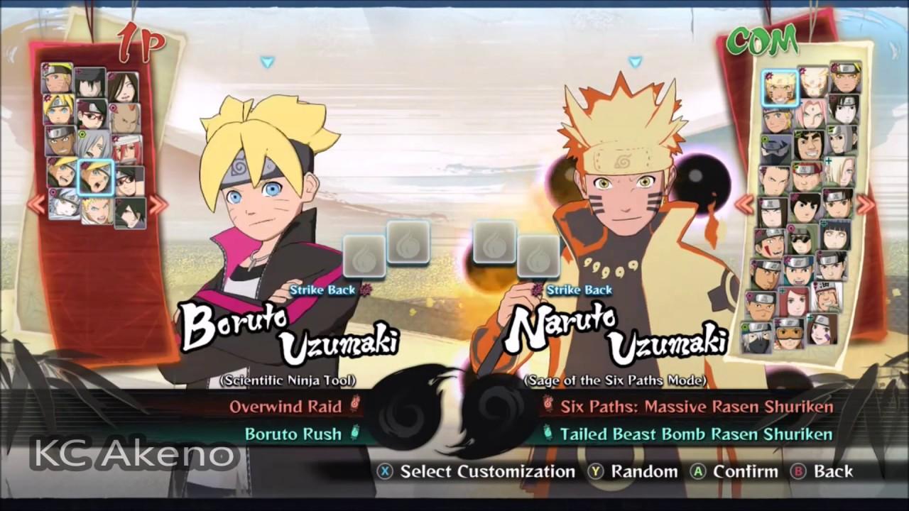 Tout les personnages de naruto ultimate ninja storm 4 dlc boruto youtube - Tous les personnages de violetta ...