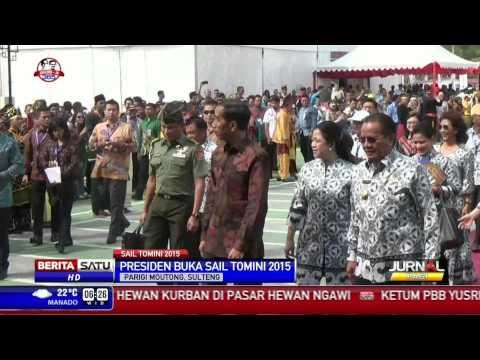 Puluhan Kapal Perang TNI AL Meriahkan Sail Tomini 2015