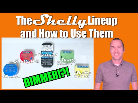 5 New Ideas For Using Shelly Devices In Your Smart Home (NOW WITH DIMMING!)
