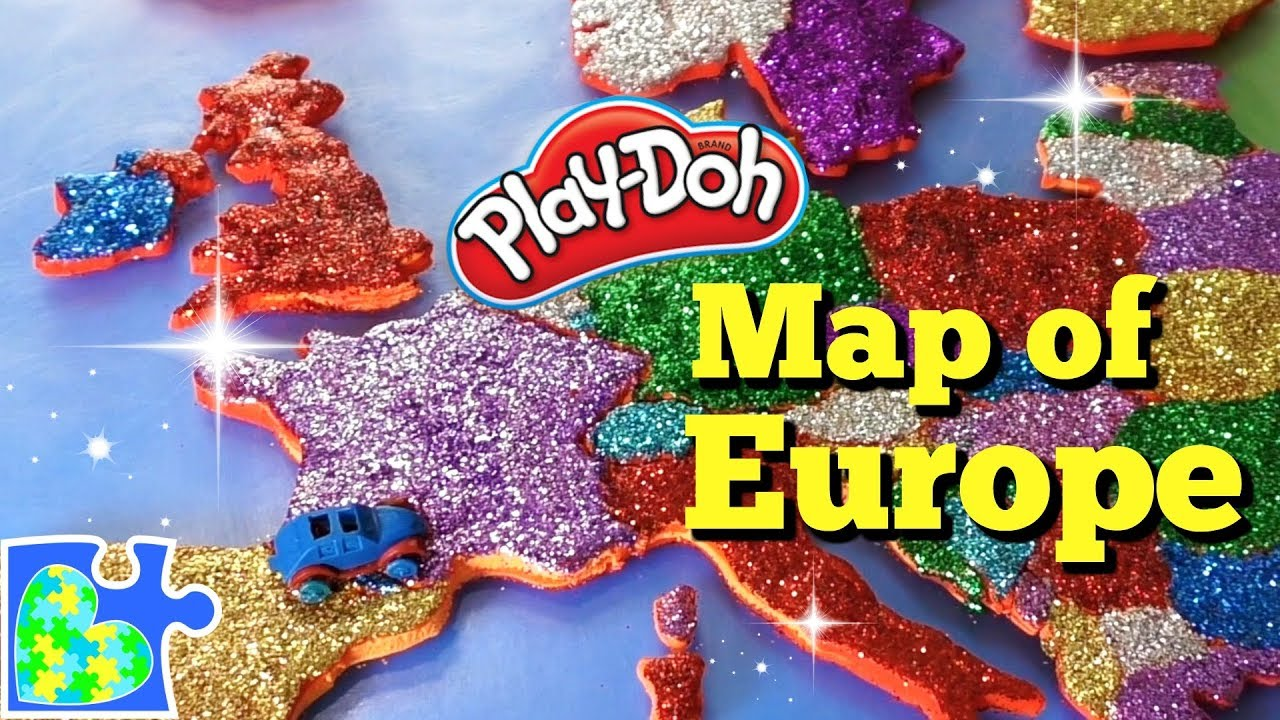 Map of Europe for Kids: Learn the Countries of Europe: Amazing Play ...