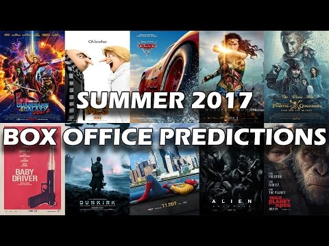 Summer Box Office 2017 Predictions