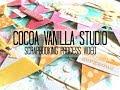 Scrapbooking Process #309 Cocoa Vanilla Studio / Love This