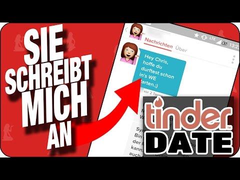 FRAU SCHREIBT HÄSSLICHEN TYPEN BEI TINDER AN - Chat vom Anschreiben bis zur Nummer | Tinder Deutsch