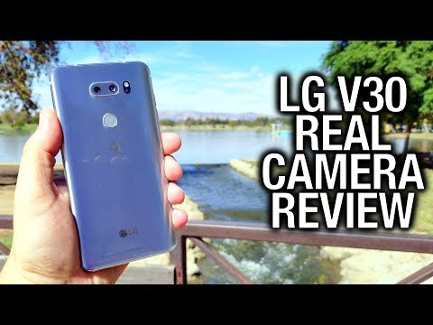 LG V30 Real Camera Review: The Video Producer