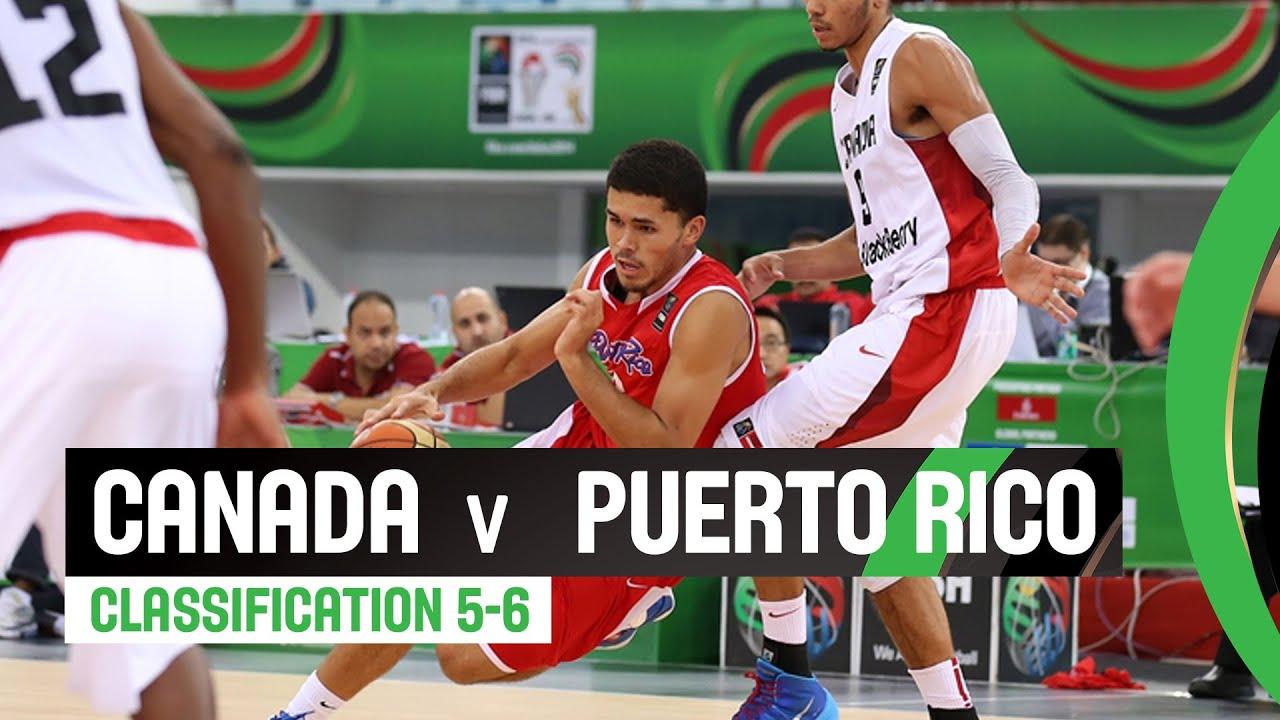 Canada v Puerto Rico - Classification 5-6