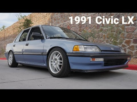 My 1991 Civic LX Sedan Build – B16A